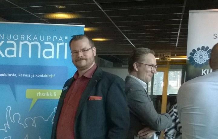 PRES Sami Nummela YritysMiitti tapahtumassa (Kuva: Krista Mikkonen)